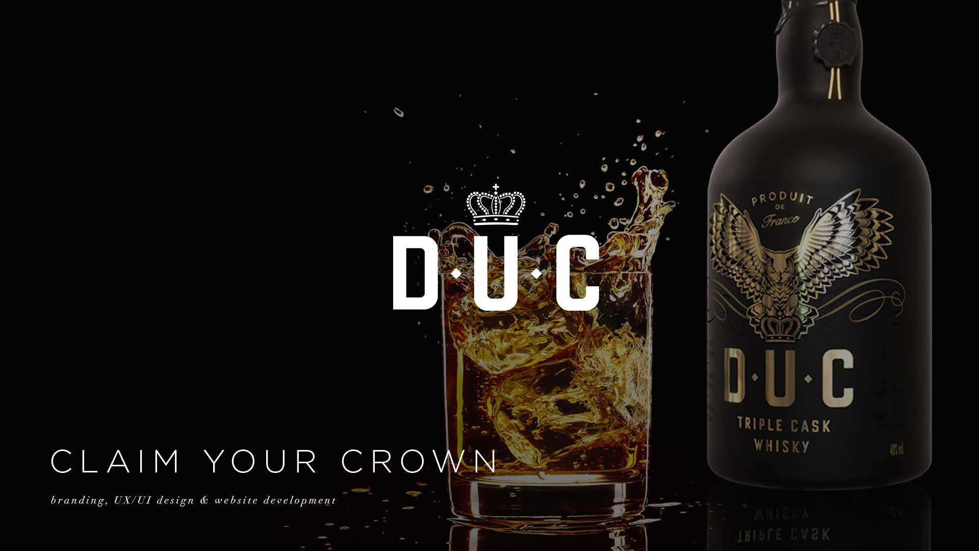 DUC, DUC whisky, DUC whisky website, web maintenance services, dukunoo jamaican kitchen, ecommerce, js home, splash page design, ecommerce website design, best agency websites, web design development company, website redesign company