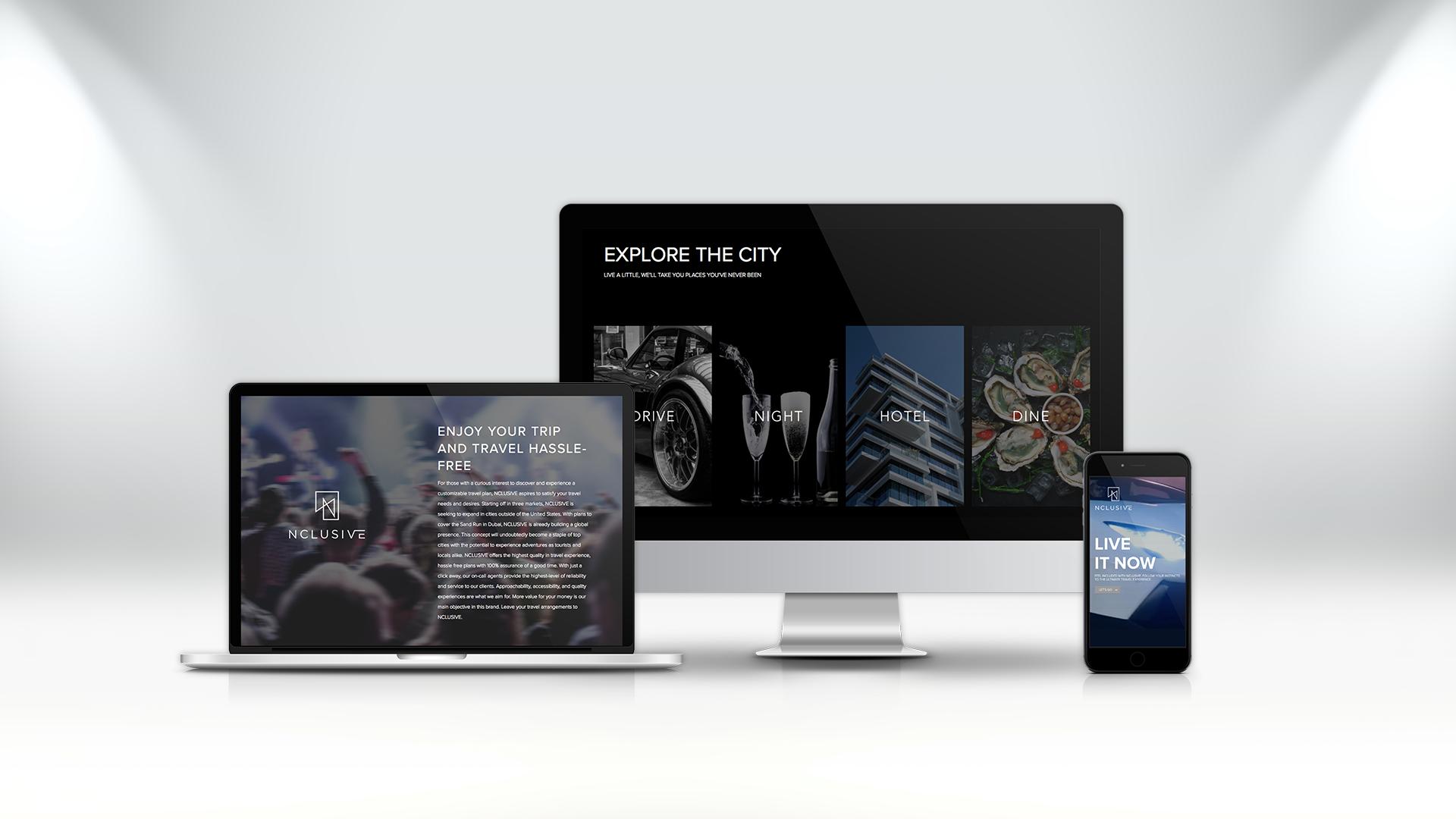 nclusive, branding, website design