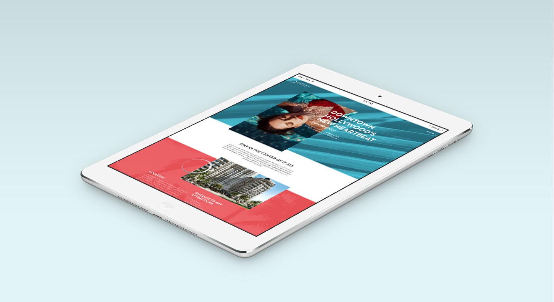 hollywood circle, website design, web design, branding agency, brand elements