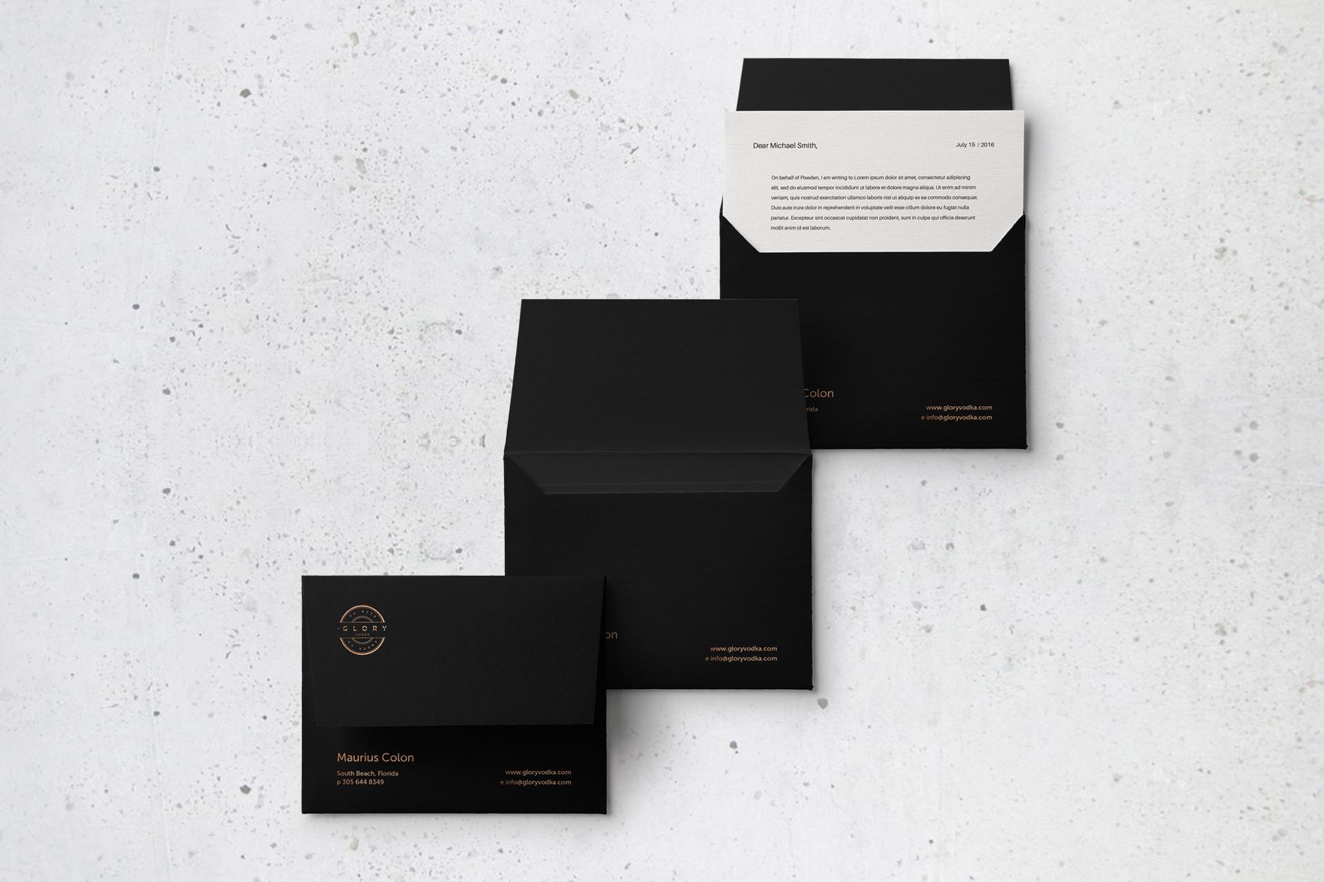 Glory Vodka, Branding, Logo Design, Packaging