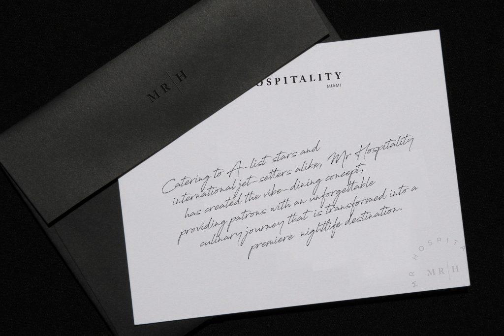 mr hospitality branding