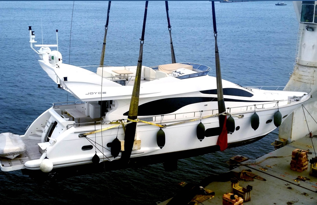 Seven Seas Yacht Transport - The Brand Collective