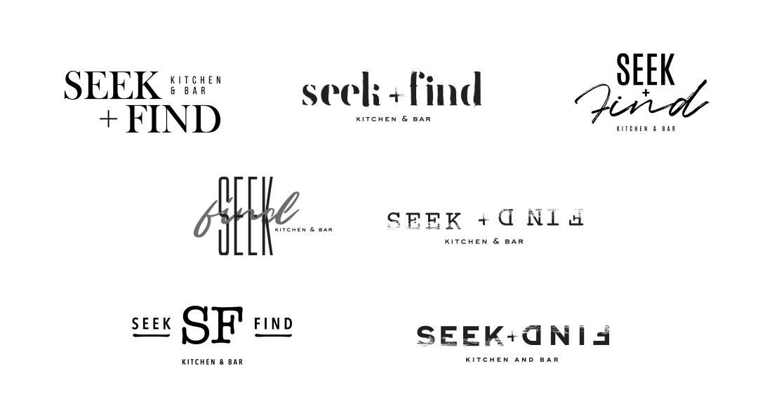 Seek+FindLogoversions