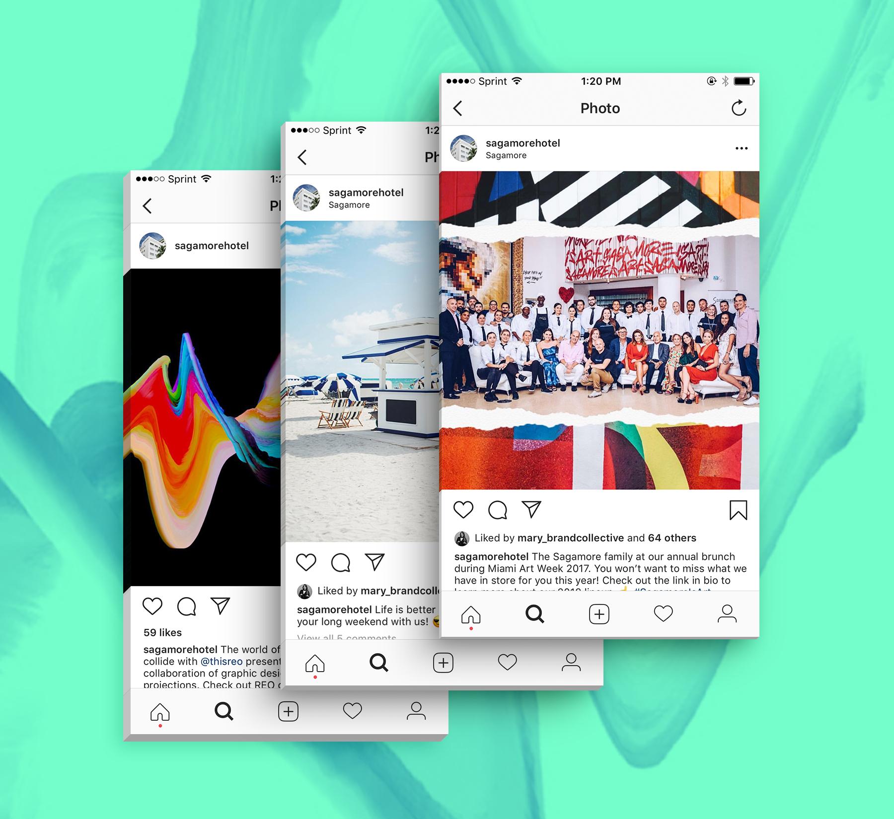 sagamore social media