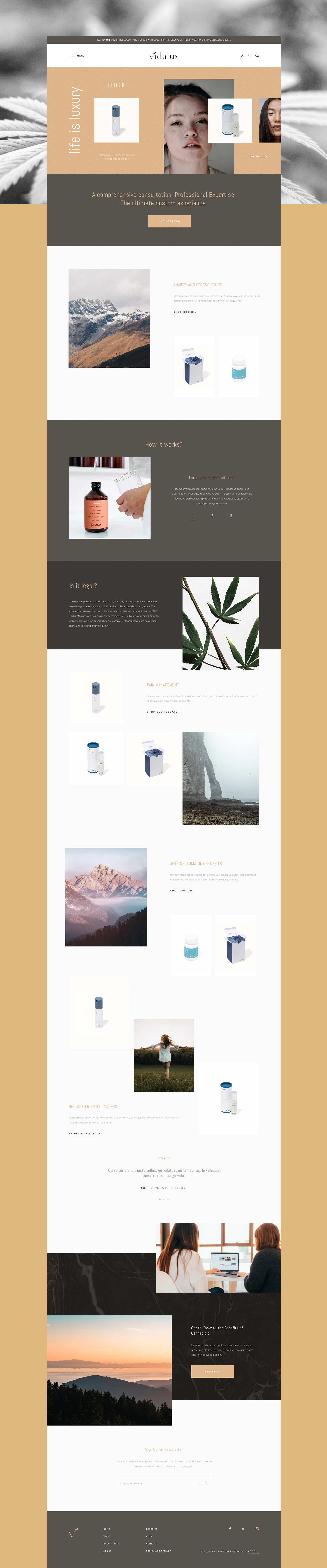 vidalux-home-page